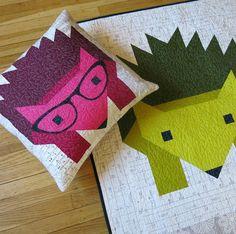 Hazel Hedgehog II Quilt Pattern by Elizabeth Hartman – Drygoods Design