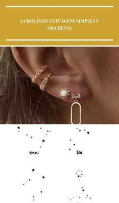 Rue Gembon - Rue Gembon Aliyah Gold Earrings Piercing