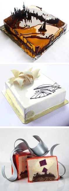 An inspiring selection of Marie Oiseau's artistic cakes.