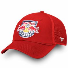 4a2aef74 Men's New York Red Bulls Fanatics Branded Red Elevated Core Trucker Adjustable  Snapback Hat, Your Price: $25.99