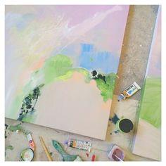 Annie Everingham Thank You So Much, Art Inspo, Pastel, Canning, Adventure, Desk, Artists, Paint, Studio