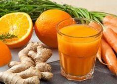 Desintoxicante zumo de zanahoria y jengibre PERFECTO para adelgazar (RECETA)
