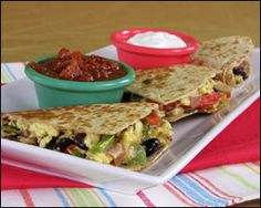 """Call it """"The Curious Case of the Morning Quesadilla."""" We can't figure out why this CRAZY breakfast food from the  Cheesecake Factory  has to be so high in calories... or so freakishly large for that matter.  Stop whatever multitasking you're doing right now and give this info your full attention: This breakfast has over 2,000 calories!  Ours 291"""