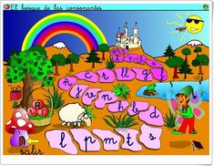 """El Bosque de las Consonantes"" (Aplicación Interactiva de Lectoescritura) Fictional Characters, Teaching Resources, Woods, Learning, Activities, Lyrics, Fantasy Characters"
