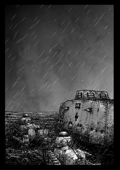 Prints from £45 Stormtanks by Neil McClements