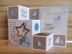 Great layout for tri shutter card