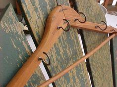 Wood Hanger Holder