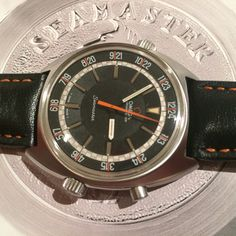 Awesome 41mm Omega Chronostop from 1968 #forsale @ #iconicpieces_com #omega #seamaster #vintageomega #vintagewatches #speedmaster #goldberger #instawatch #style #vintage #iconicpieces