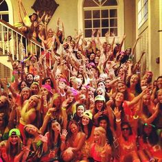 Pi Phi babies ready to rave