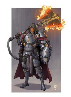 ArtStation - Character designs, Guillem Ferrer Fantasy Character Design, Character Concept, Character Inspiration, Character Art, Fantasy Warrior, Fantasy Weapons, Armor Concept, Space Fantasy, Fantasy Art