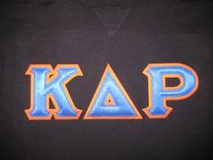 #KappaDeltaRho #schoolcolors #DesignerGreek #customshirt #Greekpride #collegelife