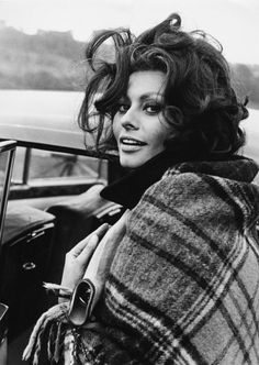 Sophia Loren, South Wales, 1965