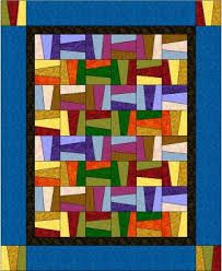 rail fence quilt - Google Search