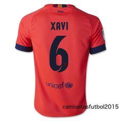 segunda camiseta XAVI barcelona 2015 baratas,€15,http://www.camisetasfutbol2015.com/segunda-camiseta-xavi-barcelona-2015-baratas-p-20063.html