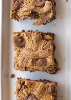 Peanut Butter Brownies - Bake or Break