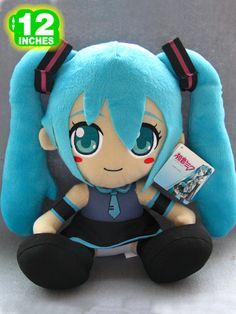 Miku Hatsune Plush Doll MHPL7844