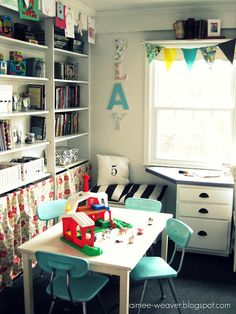 What a great play room!
