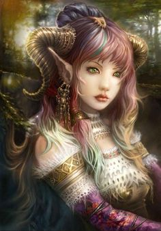 Elven Beauty. Although I have spent most of my working life in education teaching with a strong emphasis on history, my other love is art, unfortunately I posses no aptitude for art fortunately these artists do! - look, enjoy and learn! Linda ( Educational director of http://www.siteseen.info ).