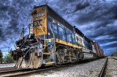 Classic CSX Train