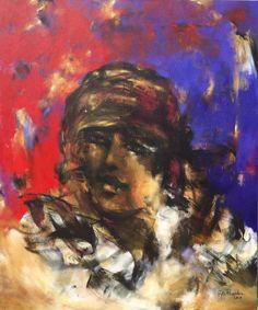Artist : Paloma Rodríguez / Title : Hace Tantos Sueños / Dimensions : 120 x 100 cms / Technique : Acrylic On Canvas / Price : MXN $40,000 / Status : Available / Year : 2015