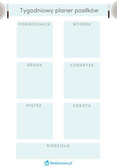 Lista 75 pomysłów na obiad dla Twojej rodziny! – Rodzicowo.pl – Artykuły Bujo, Food And Drink, Cooking Recipes, How To Plan, Workout, Kitchen, Cooking, Chef Recipes, Work Out