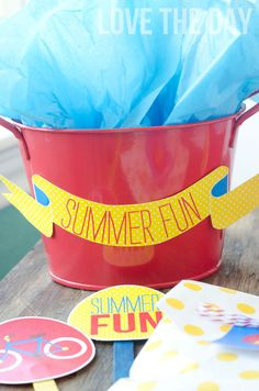 Summer Picnic Printables by Love The Day:: New Collection #summer #picnic #printables