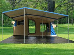 Image detail for -Trailer Tent / Camping Tent / Awning / Family Tent Best Family Camping Tents, Family Tent, Camping Glamping, Camping Life, Outdoor Camping, Camping Hacks, Camping Gear, Beach Camping, Camping Stuff