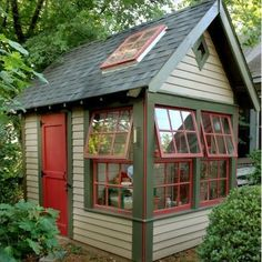 Garden Shed-I need one of these since the garden is a bit away from the house
