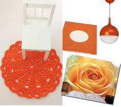 Oranssi sisustus