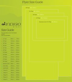 Flyer Size Guide How to use in Graphic Design