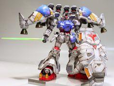 GUNDAM GUY: HGUC 1/144 Gundam GP02A MLRS - Painted Build