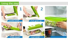 ☑ Worldwide Free Shipping. ☑ No Tax Charges. ☑ Best Price Guarantee. ☑ Refund if you don't receive your order. ☑ Refund & Keep item, if not as described.Item Specifics: Type: Fruit & Vegetable Tools Certification: CIQ,CE / EU Model Number: AKC6009 Fruit & Vegetable Tools Type: Shredders & Slicers Featur Slicer Dicer, Grater, Stainless Steel, Vegetables, Eco Friendly, Free Shipping, Products, Vegetable Recipes, Gadget