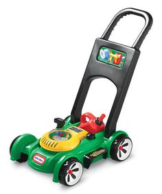 Another great find on #zulily! Gas 'n Go Mower Toy by Little Tikes #zulilyfinds