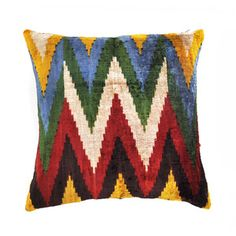 Chevron Velvet Cushion Cover, 90€, now featured on Fab.