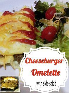 Limeade Gal: Cheeseburger Omelette