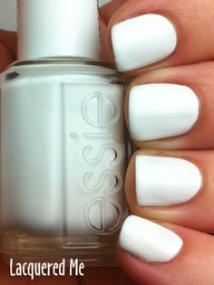 essie nail polish color blanc by DepecheMe, Bitte