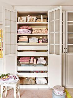 Organiza mejor la ropa de casa · ElMueble.com · Trucos