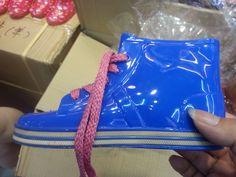 Frozen Elsa and Anna rainshoes for kids girls and boys children rainshoes