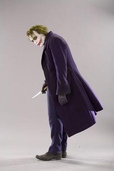 Batman Dark Knight Movie Heath Ledger As Joker Gallery Print