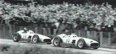 GP Francia Fangio – Klint – AscariLa temporada de 1954 se presentaba tremendamente emocionante por diferentes causas. Primero retornaban las especificaciones de Fórmula 1, después de do…