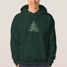 Christmas Tree Hoodie - christmas idea gift idea diy unique special merry xmas family holidays