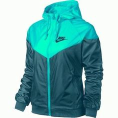 032bb0d273dd NIKE WINDRUNNER WOMEN S JACKET WAS  85 BLUE Cute Athletic Outfits
