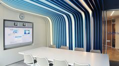 Nouveaux bureaux de Linkedin inspirés du design sensoriel