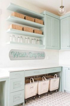 35 Awesome Diy Laundry Room Makeover With Farmhouse Style Ideas. If you are looking for Diy Laundry Room Makeover With Farmhouse Style Ideas, You come to the right place. Below are the Diy Laundry Ro. Laundry Room Remodel, Laundry Room Organization, Laundry Room Design, Laundry Storage, Organization Ideas, Storage Ideas, Laundry Baskets, Storage Shelves, Open Shelving