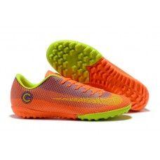 Nike Mercurial SuperflyX VI Elite CR7 TF Botas de futbol naranja Verde 357e258f4dec0