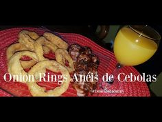 Onion Rings Anéis de Cebolas #DeliciasdaDenny - YouTube