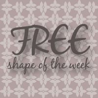Silhouette Blog: FREE Shape of the Week...7/31