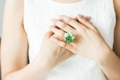 This Accidental Florist Makes Gorgeous Living Jewelry (No Watering Needed)  #refinery29  http://www.refinery29.com/2016/02/103753/succulent-living-jewelry