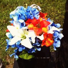 My memorial day flowers for joe :)