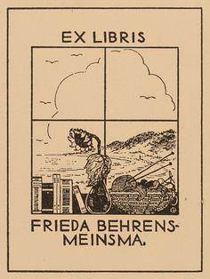Ch GI Behrens, Art-exlibris.net